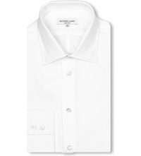 Richard James Royal Oxford Shirt White