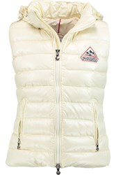 Pyrenex Spoutnic Quilted Shell Down Gilet White