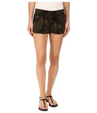 Hurley Beachrider Woven Shorts Cargo Khaki Women's Shorts
