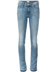 Mother 'The Rascal Slit' Jeans Blue