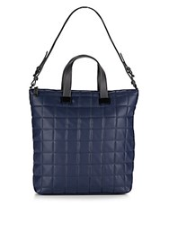 Steve Madden Bree Quilted Tote Navy