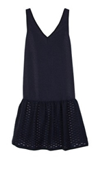Tess Jacquard Trapeze Dress Shop Tibi