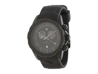 Rip Curl K55 Tidemaster Black Steel Silicone Watches