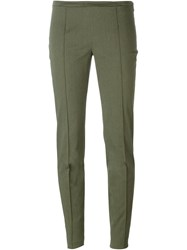 Romeo Gigli Vintage Tapered Trousers Green