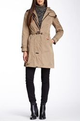 Rainforest Travel Long Coat Beige