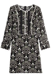 Tara Jarmon Printed Silk Dress Multicolor