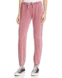 Vintage Havana Burnout Sweatpants Wine