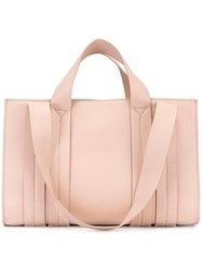 Corto Moltedo Medium 'Costanza Beach Club' Tote Pink Purple