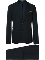 Daniele Alessandrini Tailored Dinner Suit Black