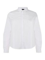 Persona Bavarese High Low Shirt White