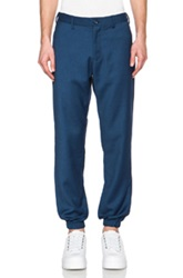 Opening Ceremony Weir Suiting Track Pants In Blue