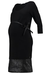Bellybutton Jersey Dress Stretch Limo Black