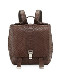 Ps Courier Small Python Backpack Pepe Proenza Schouler