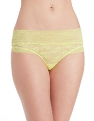 Candc California Lace Top Thongs Keylime