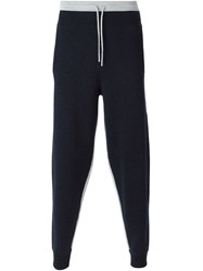 Mcq By Alexander Mcqueen Mcq Alexander Mcqueen Knitted Track Pants Blue