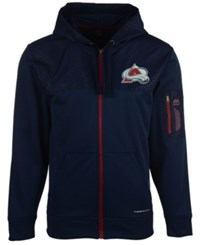 Majestic Men's Colorado Avalanche Ready For Action Full Zip Hoodie