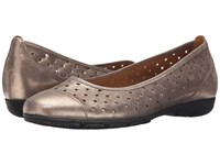 Gabor 44.169 Mutaro Metallic Eclisse Women's Flat Shoes Gold