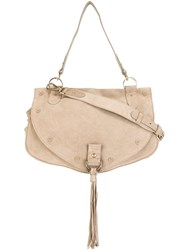 See By Chloe Medium 'Collins' Shoulder Bag Nude And Neutrals