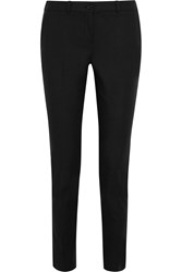 Michael Kors Samantha Stretch Cotton Poplin Slim Leg Pants