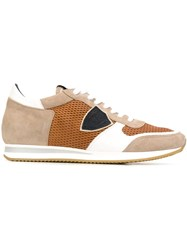 Philippe Model 'Tropez' Sneakers Nude And Neutrals