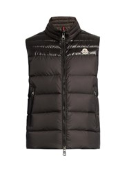 Moncler Dupress Quilted Down Gilet Black