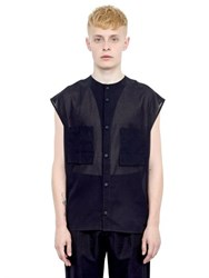 Alexandre Plokhov Cotton Gauze Sleeveless Shirt