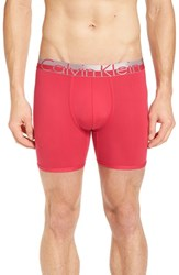 Men's Calvin Klein 'Magnetic Force' Microfiber Boxer Briefs Deep Pink