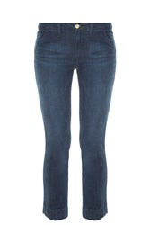 Frame Denim Le Straight Jeans Blue