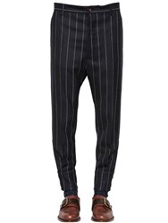 Vivienne Westwood Pinstriped Wool Twill Pants