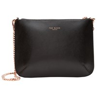 Ted Baker Nara Across Body Leather Bag Black