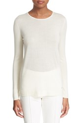 Women's Akris Cashmere And Silk Knit Pullover