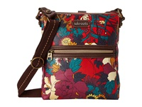 Sakroots Artist Circle Tablet Crossbody Crimson Flower Power Cross Body Handbags Red