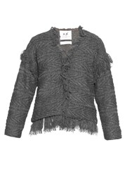 Banjo And Matilda Moroccan Tassel Fringed Cardigan