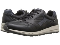 Mephisto Trail Black Navy Polo Men's Lace Up Casual Shoes