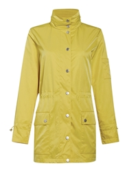 Cloud Nine Parka With Packaway Hood Yellow