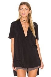 Bcbgeneration Hi Lo Top Black