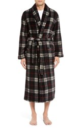 Majestic International Men's Plaid Fleece Robe