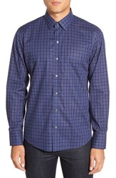 Zachary Prell Men's 'Morrow' Trim Fit Plaid Sport Shirt
