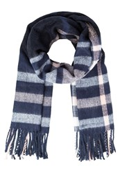 Miss Selfridge Scarf Navy Blue Dark Blue