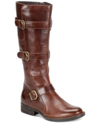 Born Falmouth Tall Boots Women's Shoes Tan