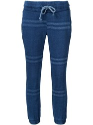 Nsf Striped Sweat Pants Blue
