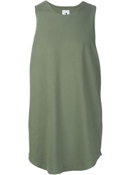 321 Classic Sleeveless T Shirt Green