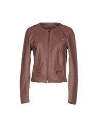 Peserico Coats And Jackets Jackets Women Skin Color