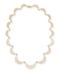 Liberte 18K Gold And Diamond Collar Necklace Ivanka Trump