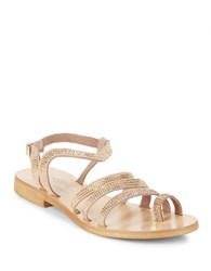 Cocobelle Sicily Studded Sandals Gold