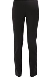 Theory High Rise Stretch Wool Skinny Pants