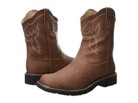 Roper 8 Chunk Boot Brown Cowboy Boots