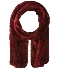 The North Face Denali Thermal Scarf Deep Garnet Red Scarves Brown