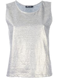 Haus By Ggdb Relaxed Fit Top Grey