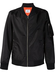 Fadeless Reversible Bomber Jacket Black